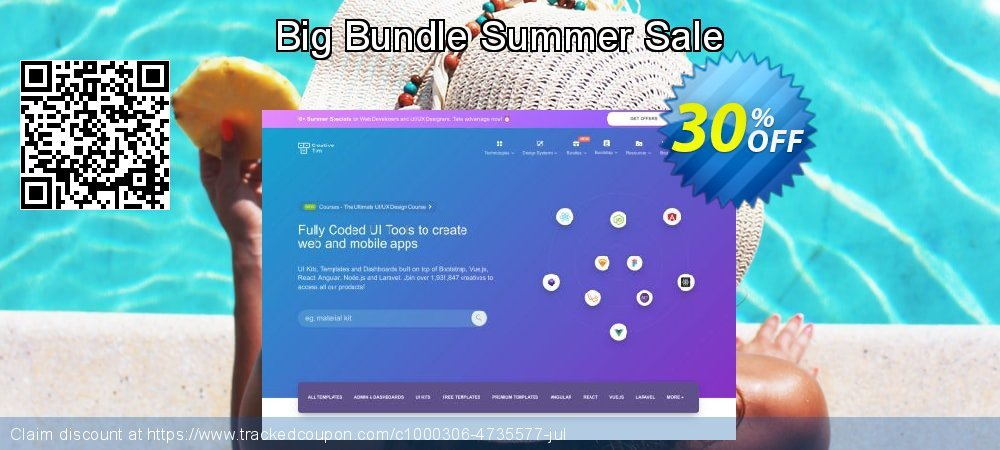 Get 30% OFF Big Bundle Summer Sale offering sales