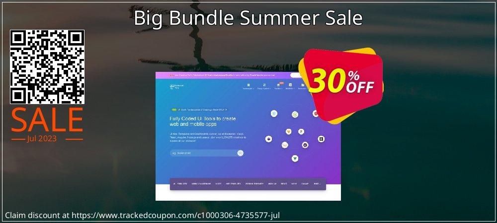 Get 30% OFF Big Bundle Summer Sale offering sales