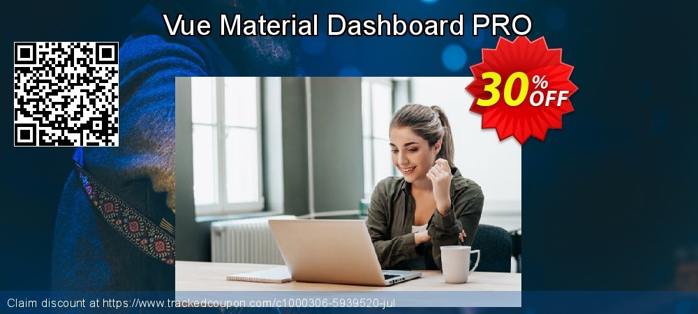 Vue Material Dashboard PRO coupon on Thanksgiving discounts