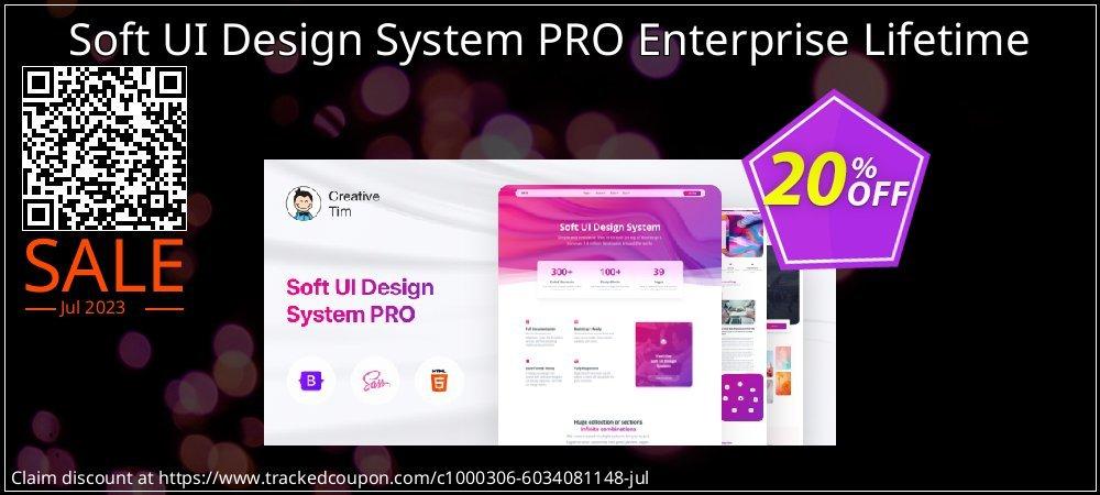 Soft UI Design System PRO Enterprise Lifetime coupon on Valentines Day sales