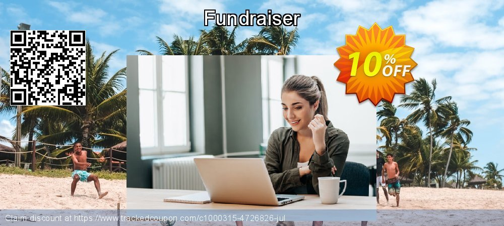 Fundraiser coupon on Thanksgiving sales