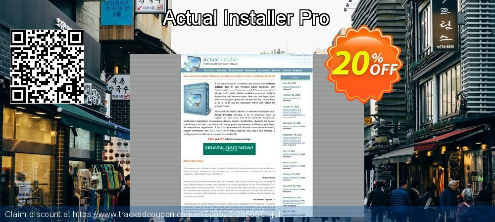 Actual Installer Pro coupon on  Lover's Day offer