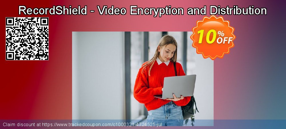 RecordShield - Video Encryption and Distribution coupon on Valentine Week sales