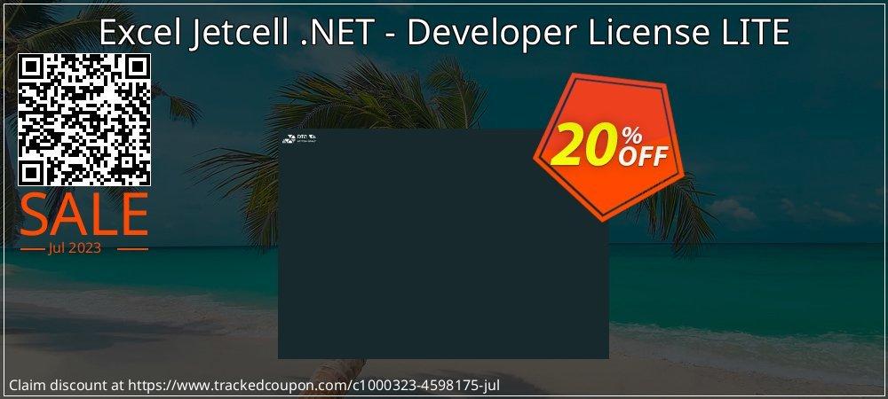 Get 20% OFF Excel Jetcell .NET - Developer License LITE offering discount