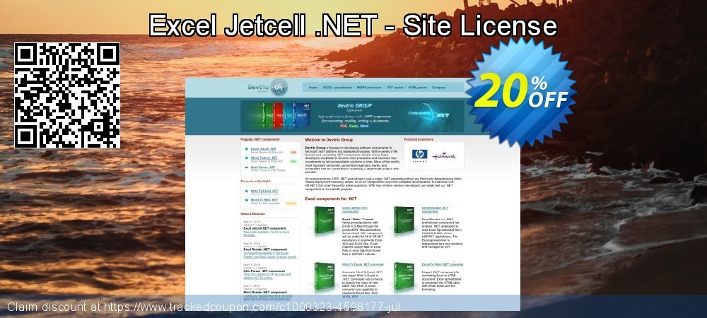 Excel Jetcell .NET - Site License coupon on Super bowl offering sales