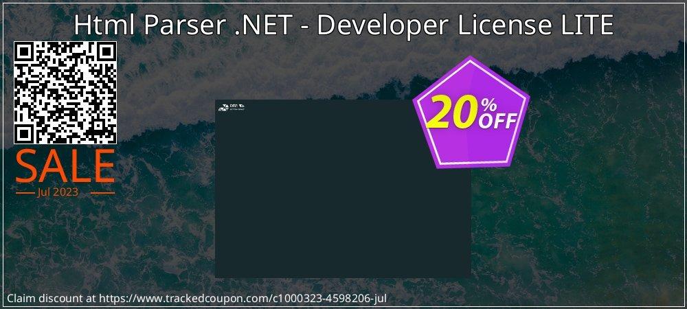 Html Parser .NET - Developer License LITE coupon on July 4th discount