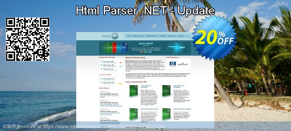 Html Parser .NET - Update coupon on Christmas offering discount