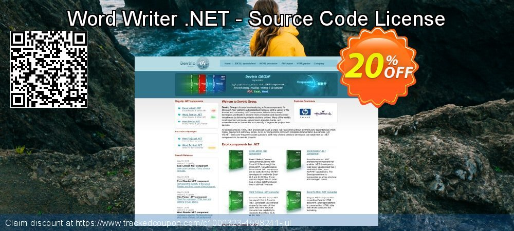 Word Writer .NET - Source Code License coupon on  Lover's Day super sale