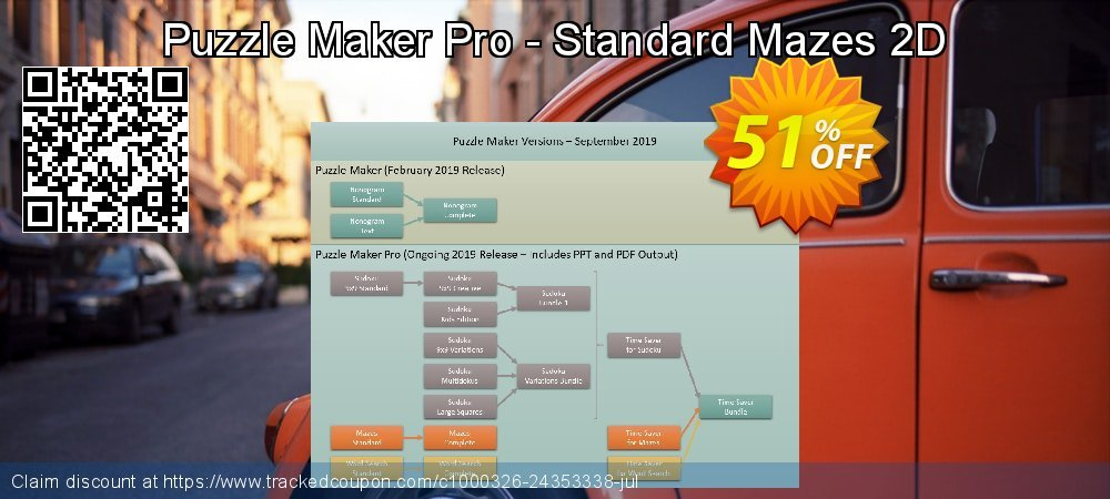 Puzzle Maker Pro - Mazes Standard coupon on End year promotions