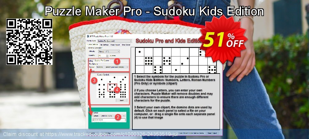 Puzzle Maker Pro - Sudoku Kids Edition coupon on Exclusive Teacher discount offering sales