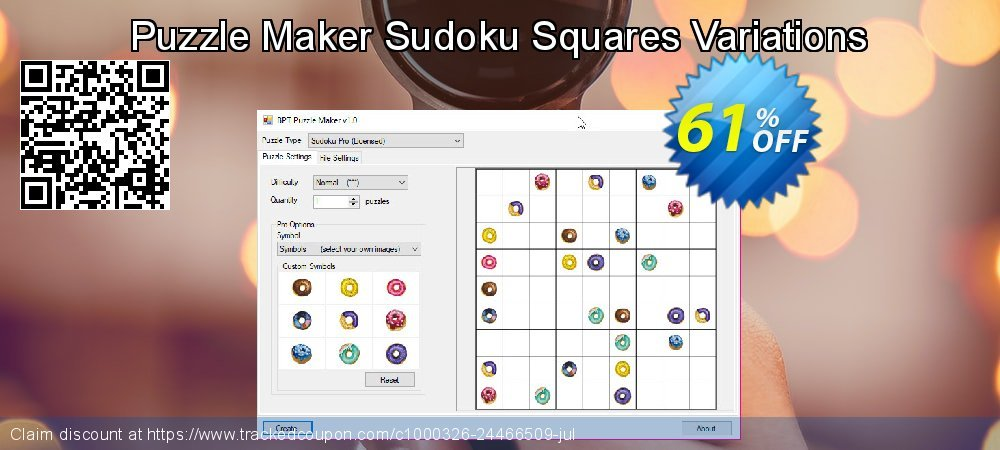Get 61% OFF Puzzle Maker Sudoku Squares Variations offering sales