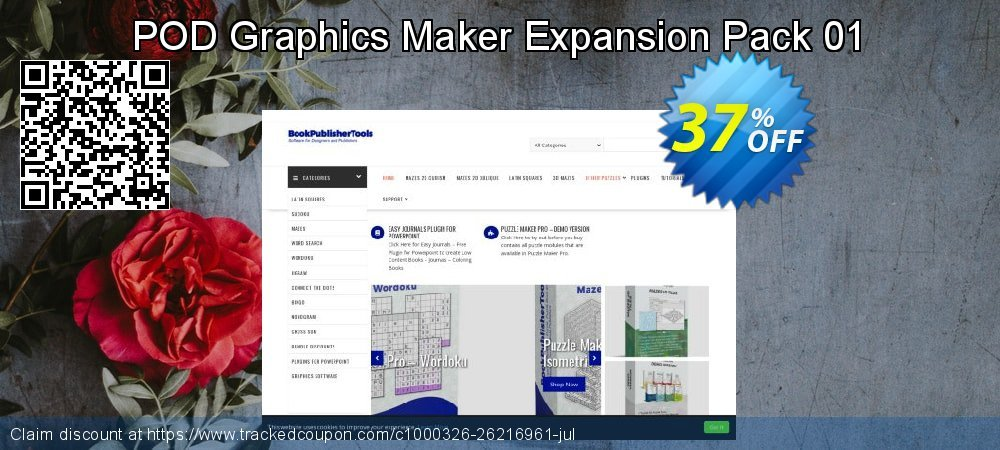 POD Graphics Maker Expansion Pack 01 coupon on  Lover's Day sales