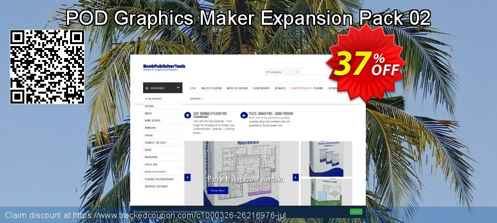 POD Graphics Maker Expansion Pack 02 coupon on Int'l. Women's Day discounts