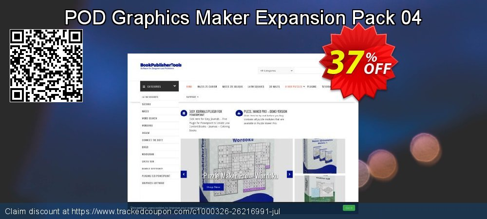 POD Graphics Maker Expansion Pack 04 coupon on  Lover's Day discount