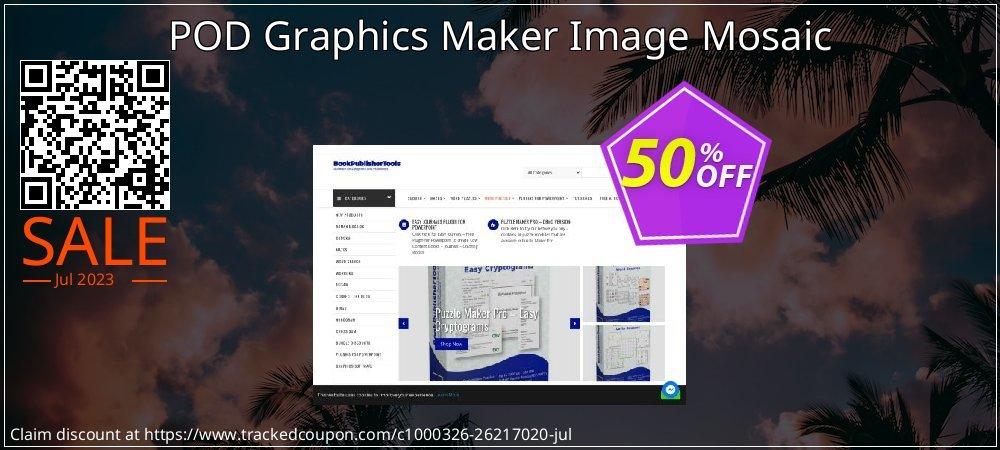 POD Graphics Maker Image Mosaic coupon on Natl. Doctors' Day super sale