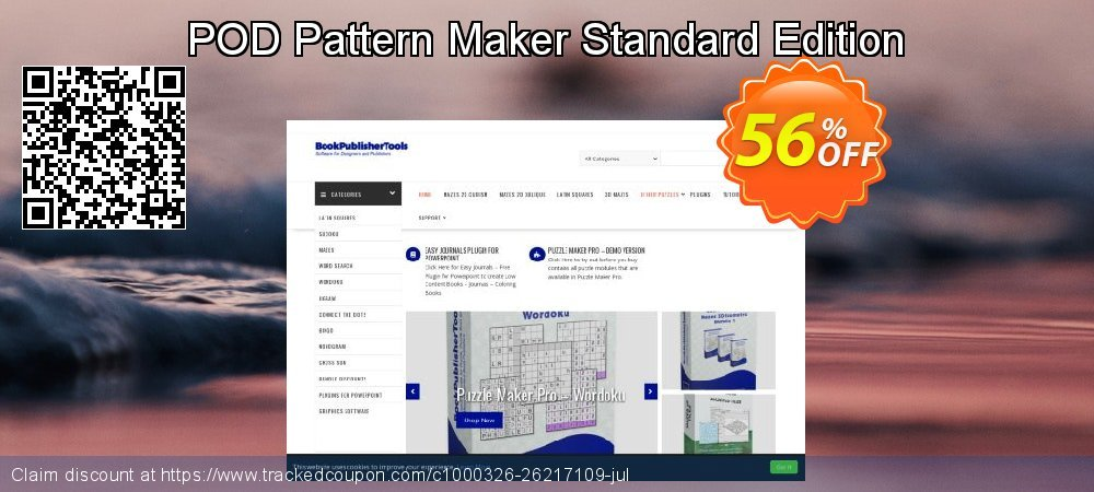 POD Pattern Maker Standard Edition coupon on Valentine's Day offering discount
