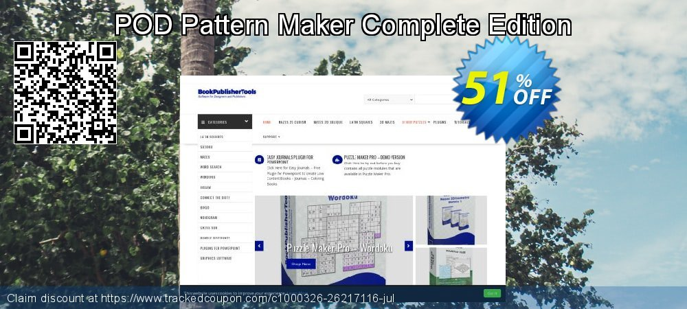POD Pattern Maker Complete Edition coupon on  Lover's Day offer