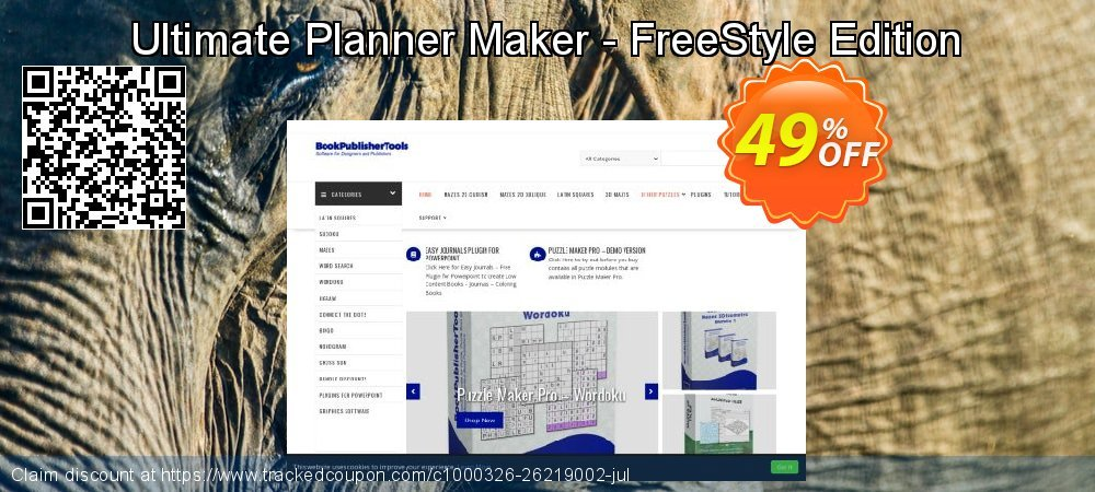 Get 49% OFF Ultimate Planner Maker - FreeStyle Edition offering sales