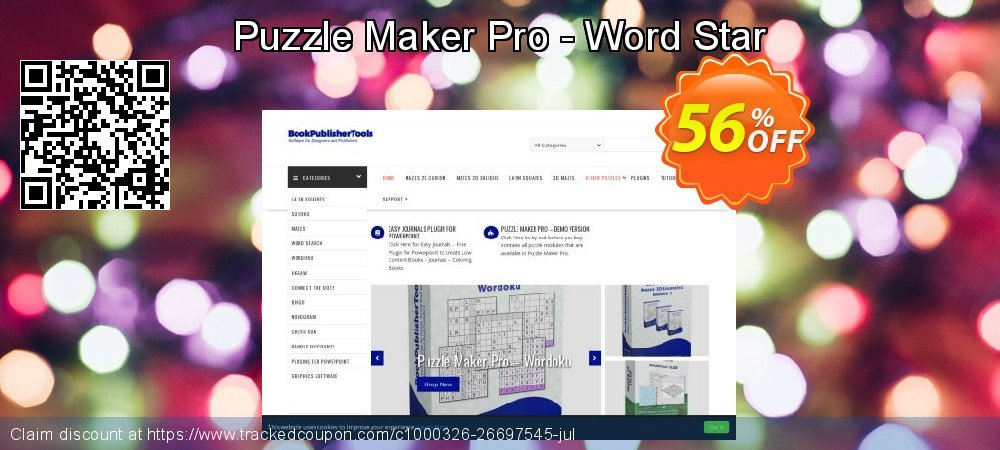 Puzzle Maker Pro - Word Star coupon on Valentine Week offer