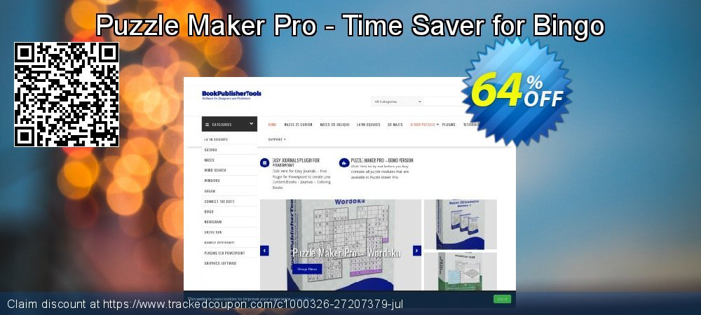 Puzzle Maker Pro - Time Saver for Bingo coupon on Valentine's Day offering discount