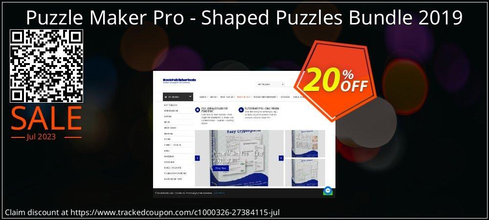 Puzzle Maker Pro - Shaped Puzzles Bundle 2019 coupon on Valentine Week discounts