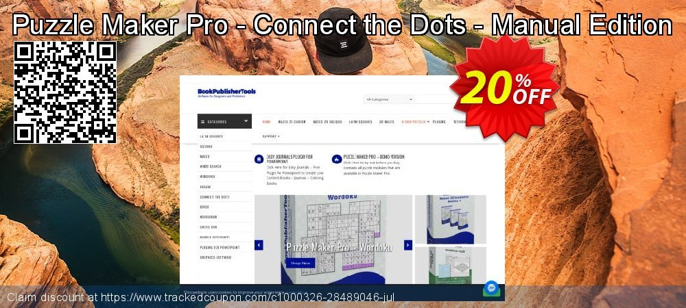 Get 20% OFF Puzzle Maker Pro - Connect the Dots - Manual Edition offer