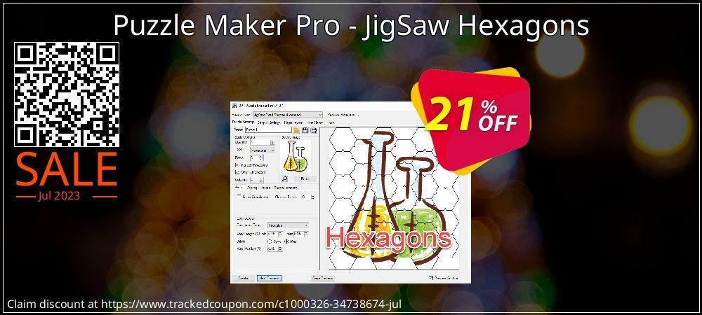Get 20% OFF Puzzle Maker Pro - JigSaw Hexagons offer