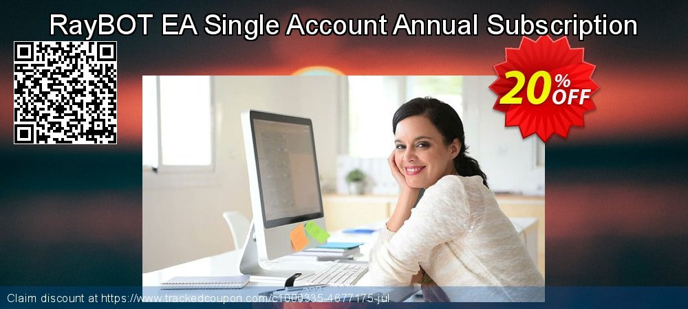 RayBOT EA Single Account Annual Subscription coupon on Read Across America Day offering sales
