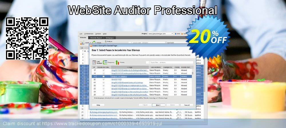 WebSite Auditor Professional coupon on X'mas offering discount
