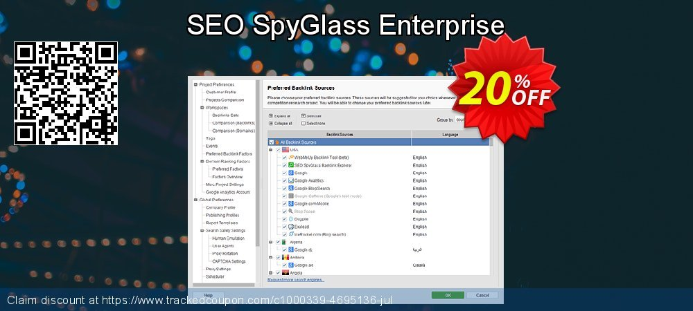 SEO SpyGlass Enterprise coupon on Int. Workers' Day offering sales