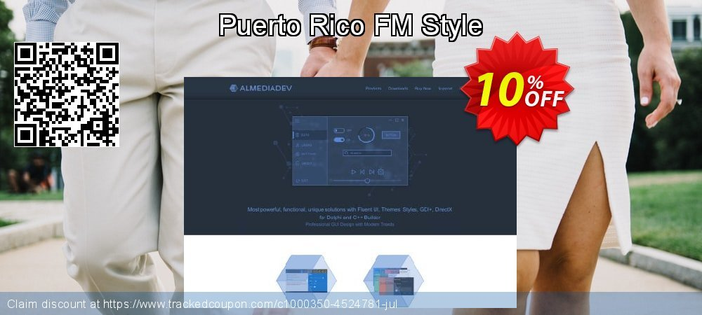 Puerto Rico FM Style coupon on National Singles Day offer