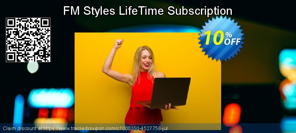 FM Styles LifeTime Subscription coupon on National Coffee Day sales