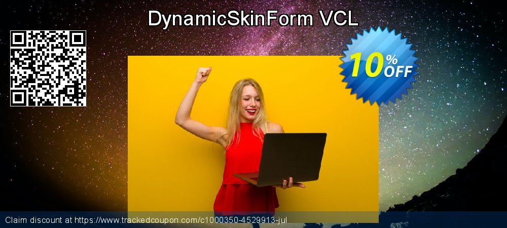 DynamicSkinForm VCL coupon on Talk Like a Pirate Day offering discount