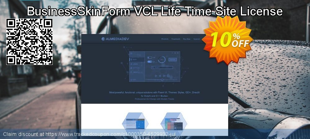 BusinessSkinForm VCL Life Time Site License coupon on National Singles Day offering sales