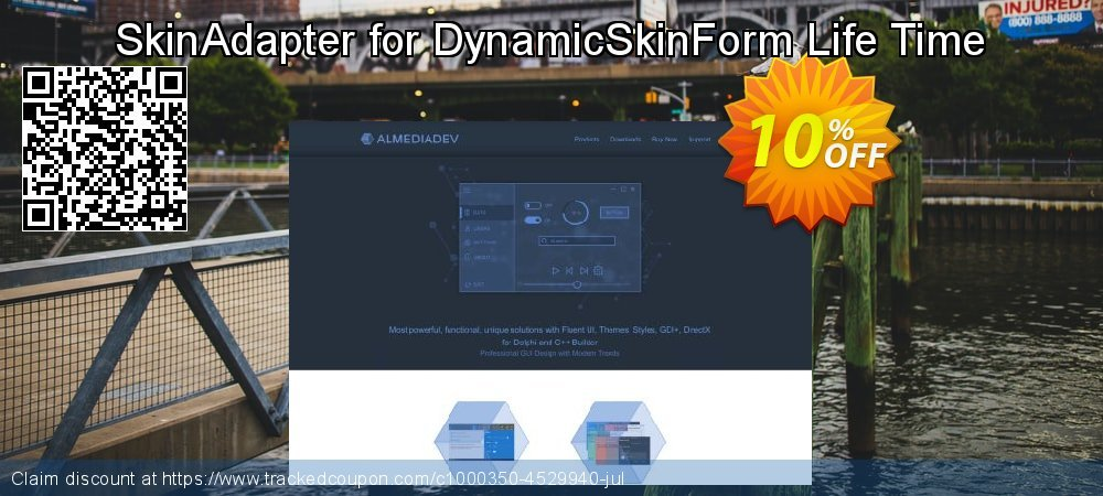 SkinAdapter for DynamicSkinForm Life Time coupon on American Chess Day offering discount