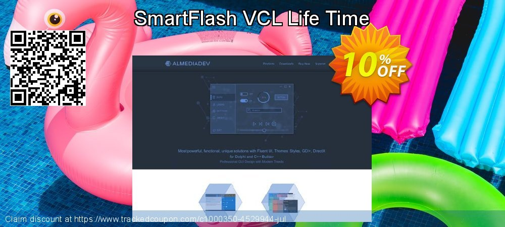SmartFlash VCL Life Time coupon on World Bollywood Day promotions