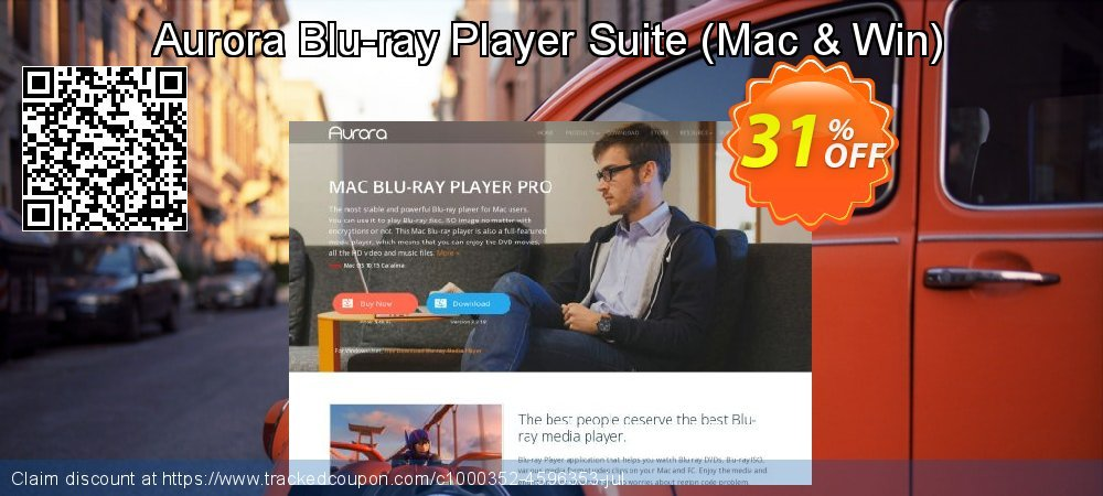 Aurora Blu-ray Player Suite - Mac & Win  coupon on World Bollywood Day promotions
