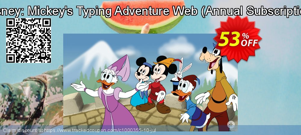Disney: Mickey's Typing Adventure Web - Annual Subscription  coupon on Int'l. Women's Day discounts