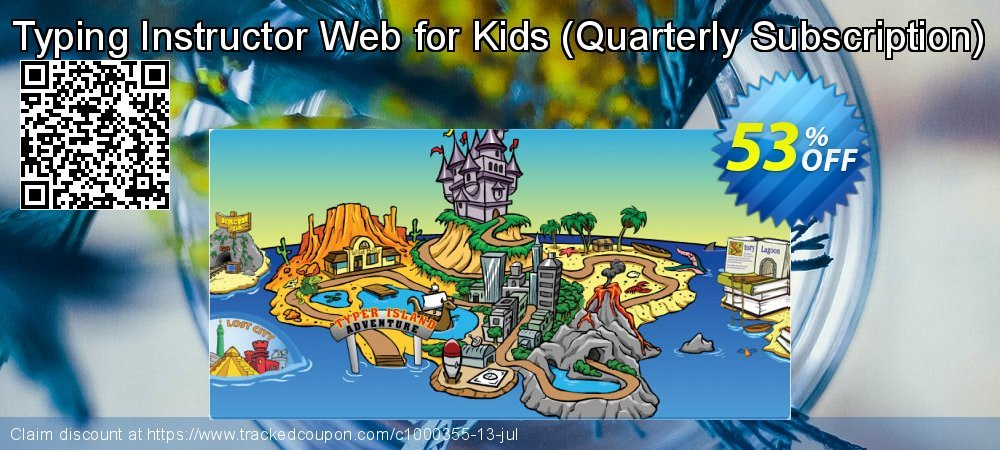 Typing Instructor Web for Kids - Quarterly Subscription  coupon on Grandparents Day discounts
