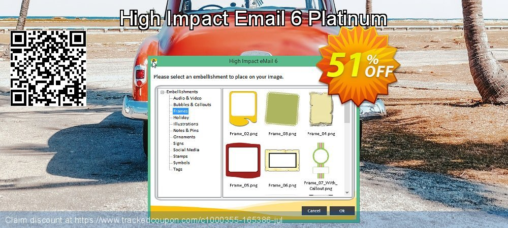 High Impact Email 6 Platinum coupon on National Coffee Day offering sales