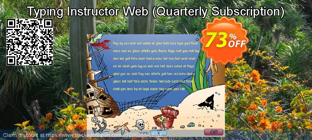 Typing Instructor Web - Quarterly Subscription  coupon on National Family Day discount