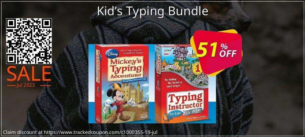 Get 40% OFF Kid's Typing Bundle offering sales