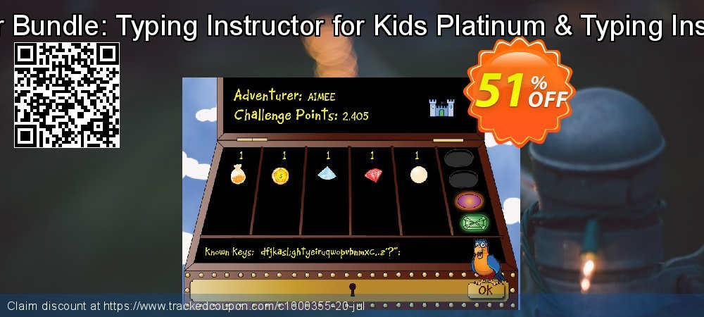 Typing Instructor Bundle: Typing Instructor for Kids Platinum & Typing Instructor Platinum coupon on Lazy Mom's Day offering sales