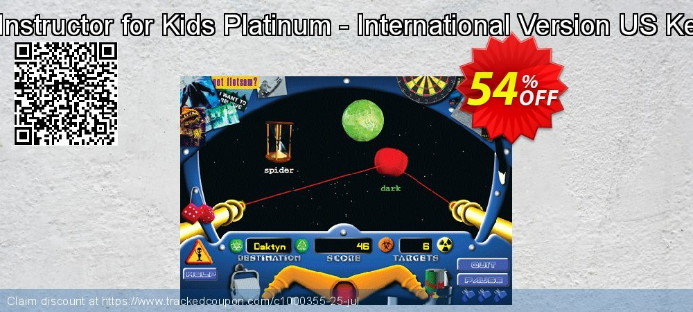 Typing Instructor for Kids Platinum - International Version US Keyboard coupon on American Chess Day deals