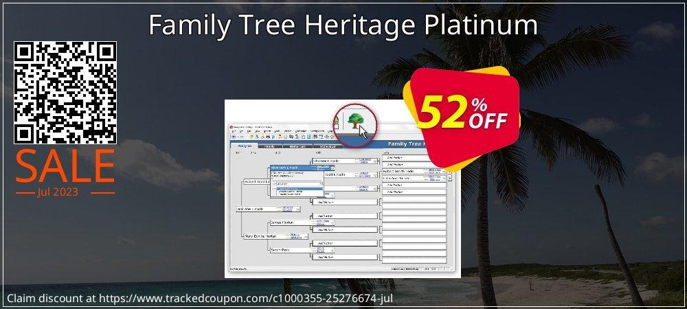 Family Tree Heritage Platinum 15 coupon on Wildlife month super sale