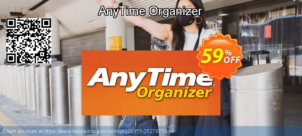 AnyTime Organizer coupon on Wildlife month sales