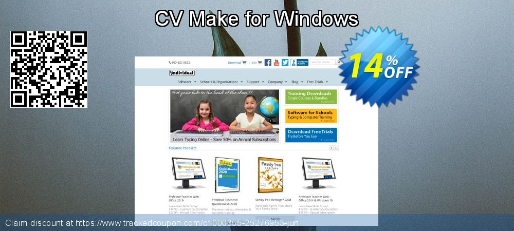 CV Make for Windows coupon on May Day promotions