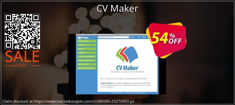 CV Maker coupon on National Singles Day super sale