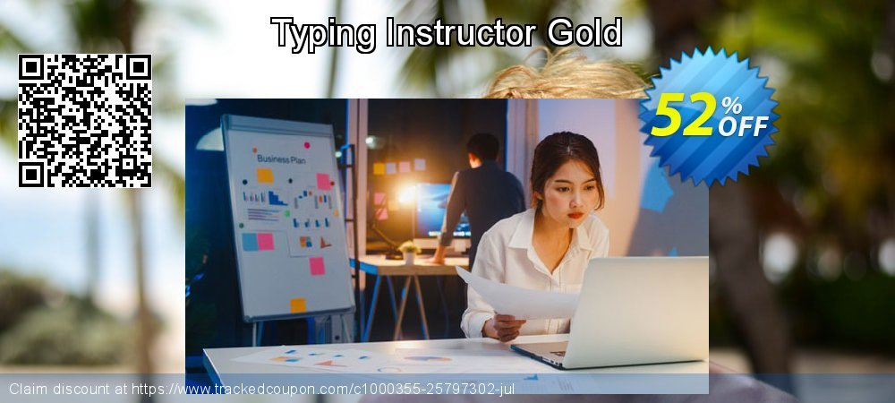 Typing Instructor Gold coupon on Grandparents Day offer