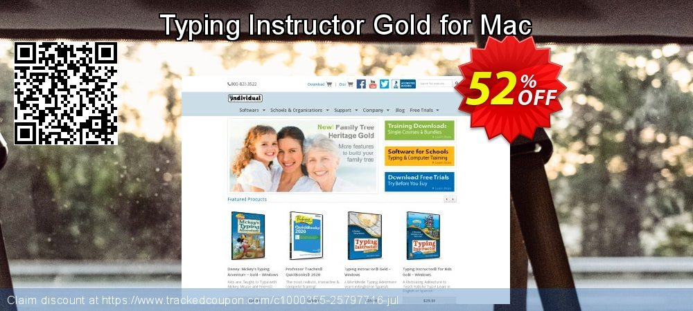 Typing Instructor Gold for Mac coupon on National Coffee Day offer